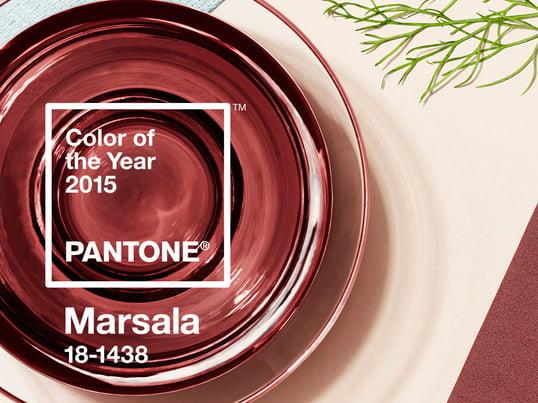 Marsala ist Pantone-Farbe des Jahres 2015