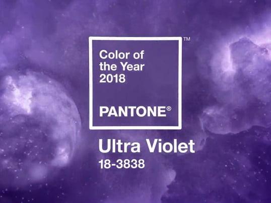 2018 wurde die Pantone Farbe 18-3838 vom Pantone Color Institute zur Farbe des Jahres 2018 gekürt.