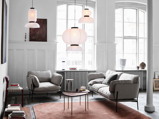 Wandgestaltung im Wohnzimmer | connox.at