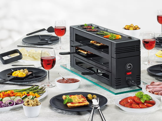 schweizer raclette grill online kaufen. Black Bedroom Furniture Sets. Home Design Ideas