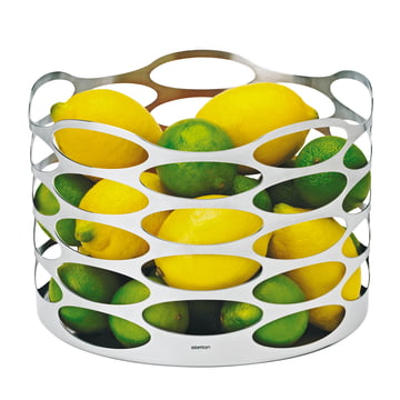 Embrace Fruchtkorb, 17 x 23 cm - satinpoliert