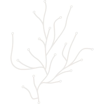 Vitra Algues, weiß