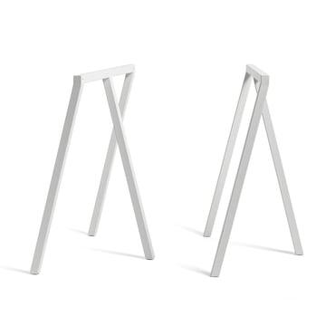 Loop Tischböcke Stand Frame von Hay in Weiß (2 Stück)