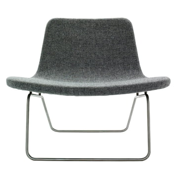 Hay Ray Lounge Chair Stoff grau