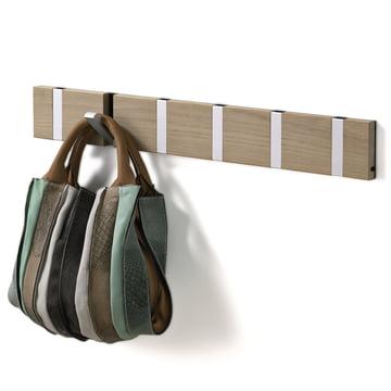 Die Loca - Knax 6 Garderobenleiste in Eiche