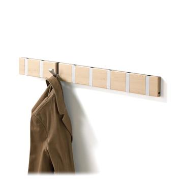 Die Loca Knax 8 Garderobenleiste in Buche