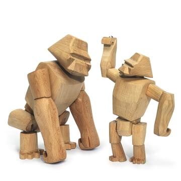 wooden creatures areaware gorilla 2