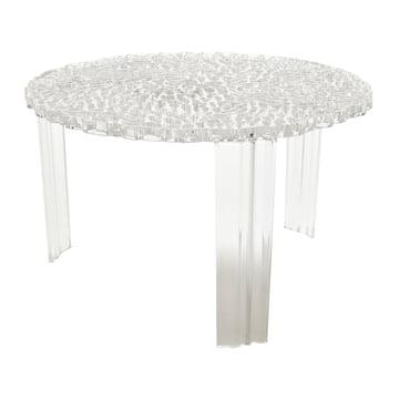 Kartell - T-Table, Höhe 28 cm, glasklar