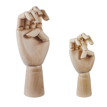 Hay - Wooden Hand, groß, klein