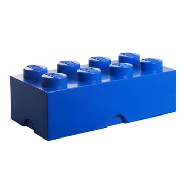 Lego - Storage Box 8, dunkelblau