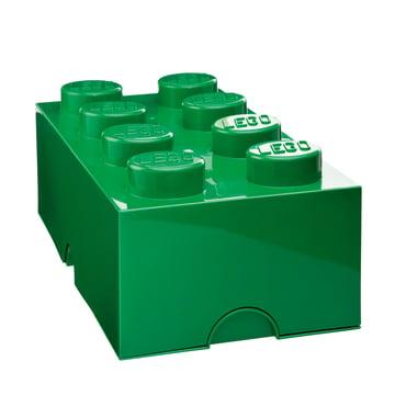 Storage Brick 8 von Lego in Dunkelgrün