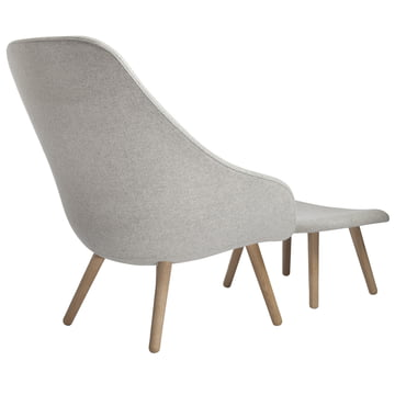 Hay - About A Lounge Chair AAL 92 mit Ottoman