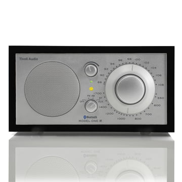Tivoli Audio - Model One BT, schwarz/ silber - Front