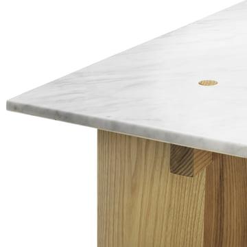 Normann Copenhagen - Solid Couchtisch - Kante, Marmor