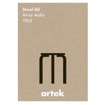 Artek - Icon Poster - Stool 60
