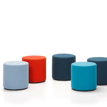 Vitra - Visiona, Gruppe blau / rot