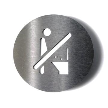Piktogramm Keine Toilette von Radius Design