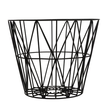 Wire Basket Medium von ferm Living in Schwarz