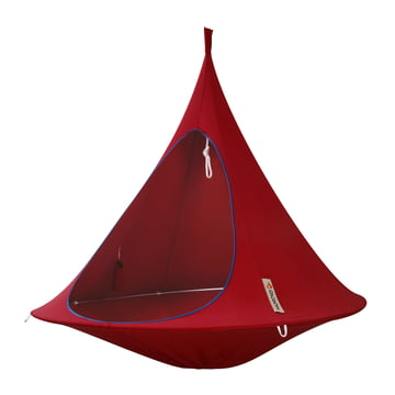 Cacoon - Double Hängesessel, chili red
