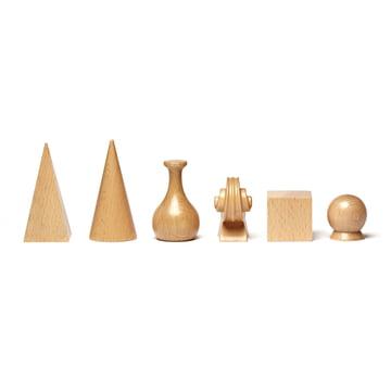 Schachfiguren von Man Ray