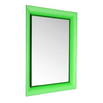 Kartell - François Ghost Spiegel, groß, grün - schräg