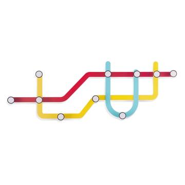 Umbra - Subway Wandgarderobe, mehrfarbig