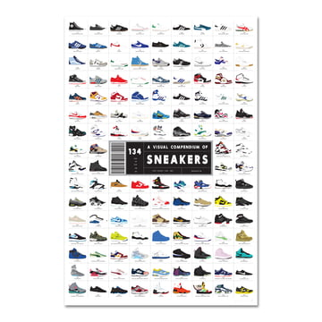 A Visual Compendium of Sneakers von Pop Chart Lab