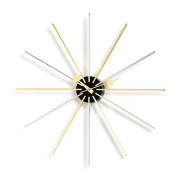 Vitra - Star Clock, Chrom / Messing