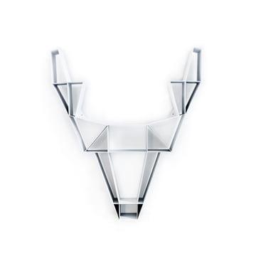 BeDesign - Deer Metall klein, weiß