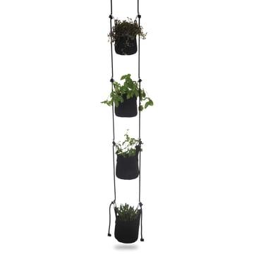 Vertical Flowerpots von Trimm Copenhagen in Schwarz