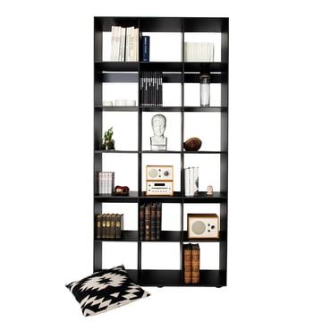 Bibliothek Modulregal HP 3x3 von Hans Hansen in Schwarz
