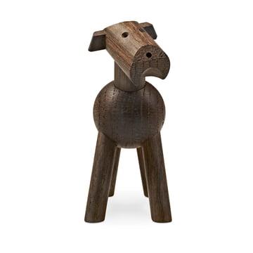 Hund Tim aus dunklem Holz vom Dänen Kay Bojesen