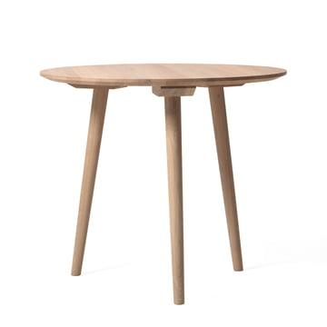 In Between Tisch SK3 Ø 90 cm von &Tradition in Eiche weiß geölt