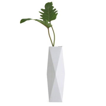 snug.vase high von Snug.studio in grau