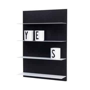 Design Letters - Black Paper A2 Regal, AJ Porzellan Becher