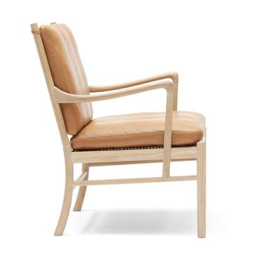 OW149 Colonial Chair von Carl Hansen aus Eiche geölt und Leder