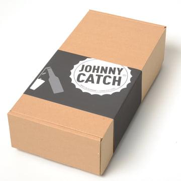 Verpackung des Johnny Catch Cup Flaschenöffners von Höfats