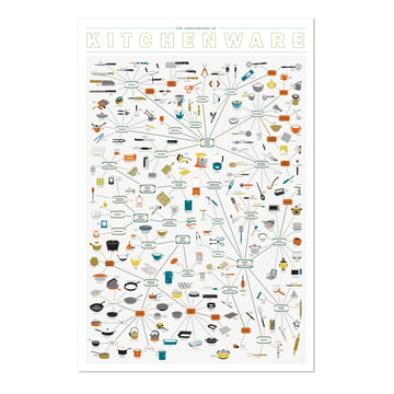 The Cartography of Kitchenware 2.0 von Pop Chart Lab
