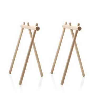 Der applicata - Stick Trestle Tischbock (2er-Set) in Eiche