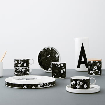 AJ Vintage Flowers Porzellan Serie von Design Letters