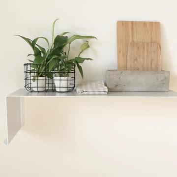 Shelve01 links von Nichba Design in Weiß