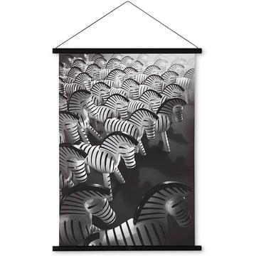 Zebra Foto 40 x 56 cm von Kay Bojesen Denmark