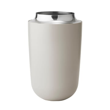 Concave Vase groß von Stelton in Sand