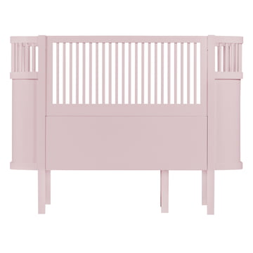 Das Sebra Bett Baby & Junior in Altrosa