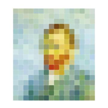 Van Gogh (Pixel) von IXXI 224 x 252 cm