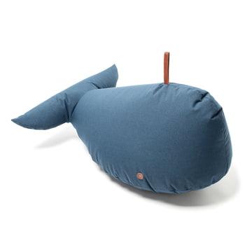 Blauer Spielwal mit Ledergriff
