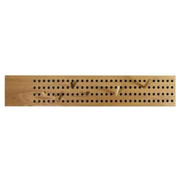 Die We Do Wood - Scoreboard Garderobe horizontal in Eiche natur