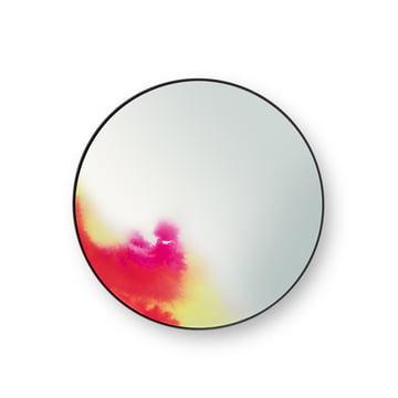 FrancisWandspiegel small von Petite Friture in Rosa / Gelb