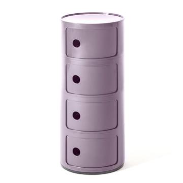Kartell - Componibili 4985, lila