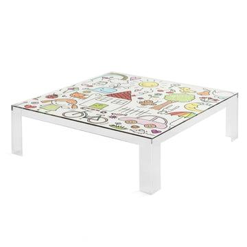 Kartell - Invisible Kindertisch mit buntem Design